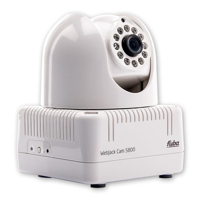 Fuba WebJack Cam 5800 Netzwerkkamera schwenkbar und neigbar