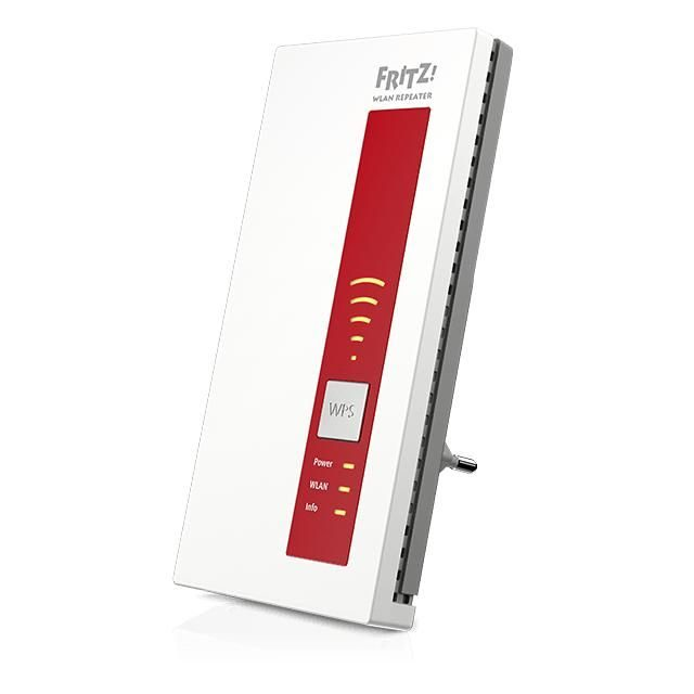 AVM FRITZ!WLAN Repeater 1160   Dual-WLAN AC + N, bis zu 866 MBit/s (5 GHz) + 300 MBit/s (2,4 GHz)