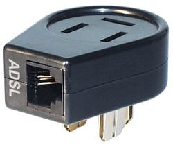 K1 GmbH TA3DK Adapter ADSL-Modem-Splitter