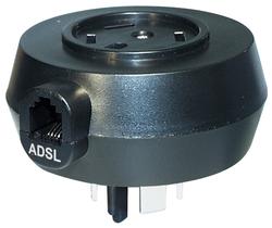 K1 GmbH TA3SW Adapter ADSL-Modem-Splitter