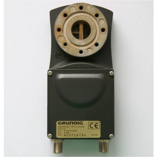 Grundig GT FLU 1 Twin-Universal LNB mit Flansch-Anschluss