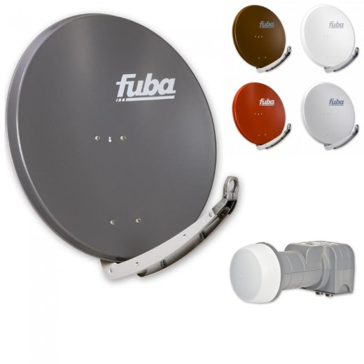 Fuba Digital Sat-Anlage 2 Teilnehmer | Fuba DAA 850 Sat-Antenne + DEK 206 LNB