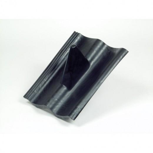 dps 207 schwarzer doppel s kunststoff dachziegel. Black Bedroom Furniture Sets. Home Design Ideas
