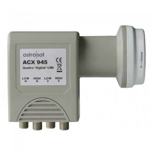 Astro ACX 945 Quattro-LNB, 40mm
