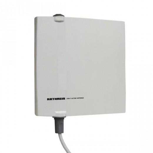 Kathrein BZD 40 DVB-T Flachantenne für den Außenbereich aktiv 18dB Verstärkung