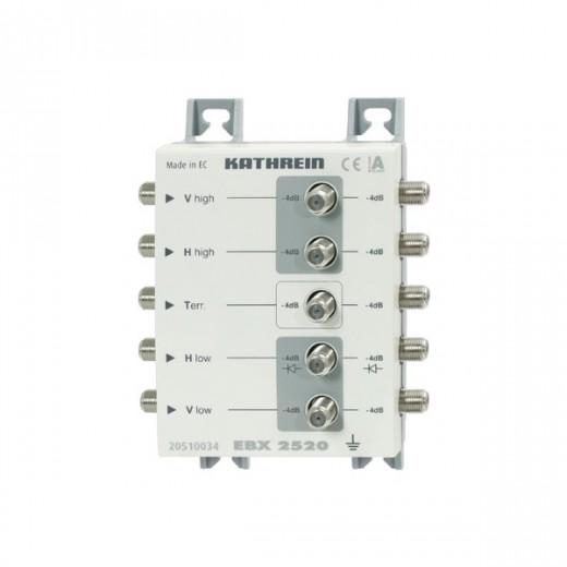 Kathrein EBX 2520 Sat-ZF-Verteiler, 5x 2-fach