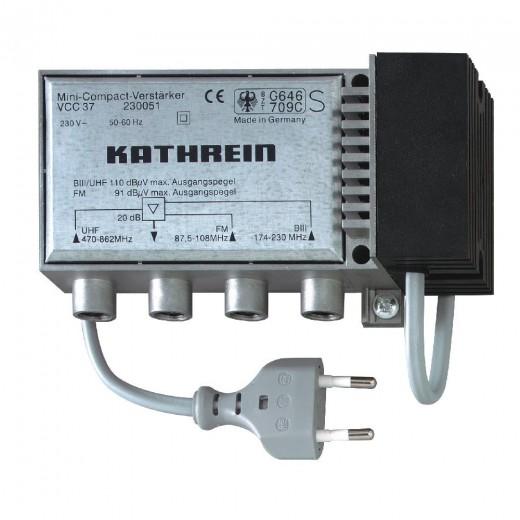 Kathrein VCC 37 Mehrbereichs-Verstärker | 3 Eing., 20dB