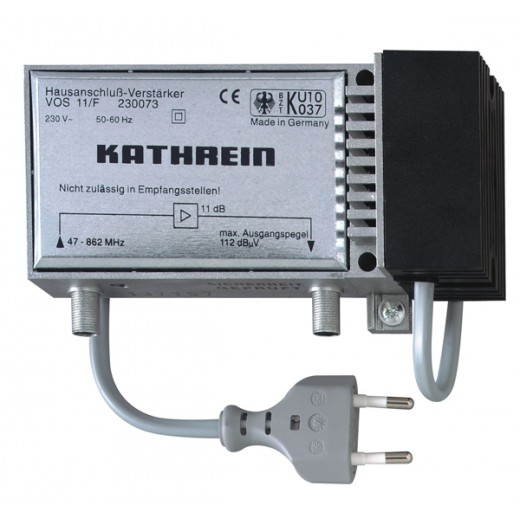 Kathrein VOS 11/F Hausanschluss-Verstärker, 11dB