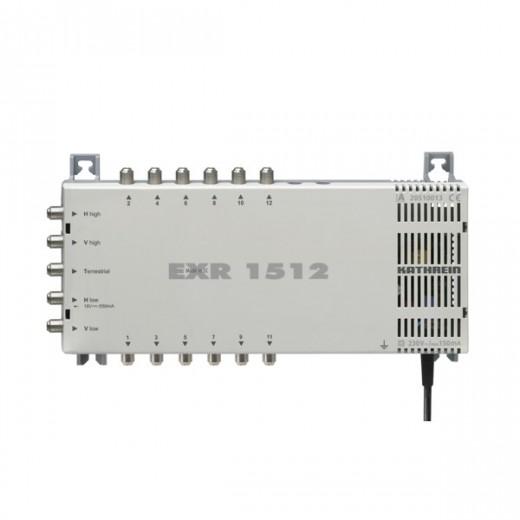 Kathrein EXR 1512 Multischalter 5/12 | Sat-Multischalter, 12 Teilnehmer, ein Satellit, HDTV- und 4K-tauglich