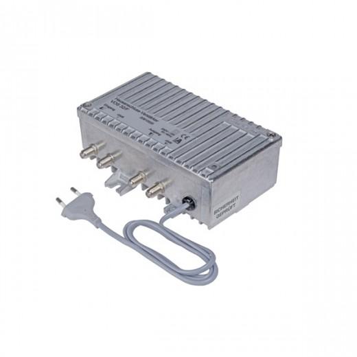 Kathrein VOS 32/F Hausanschluss-Verstärker | 32dB Verstärkung, eingebautes Netzteil