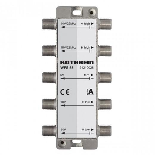 Kathrein WFS 55 5fach Fernspeise-Weiche | für Kathrein UAS 585, 5-2400MHz
