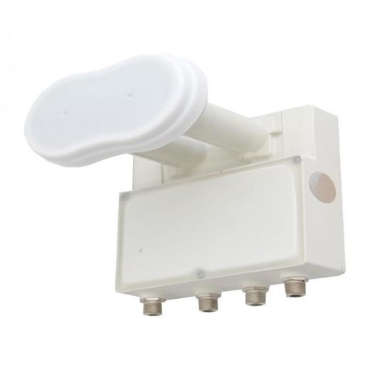 GT-SAT GT-QDMO3 3 Grad Monoblock Quattro-Switch-LNB