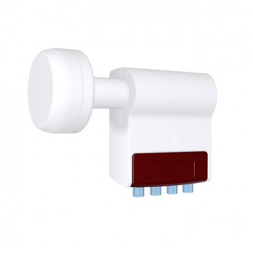 ASCI LQS 423 Quattro-Switch-LNB mit 23-mm-Feedhorn.