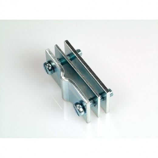 Fuba DKV 100 Erdbandeisen-Verbinder für den oberirdischen Anschluss von Erdungsleitungen an Staberder