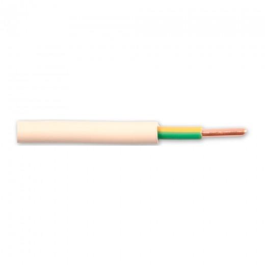 Fuba DEL 060 - 100m-Rolle eindrähtiger Kupferleiter 6mmª Querschnitt zur Erdung von Antennenanlagen nach DIN 50083-1 (VDE 0855/Teil 1)