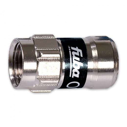 Fuba OVZ 017 Push-On F-Stecker für Kabel mit 3,9 mm Dielektrikum