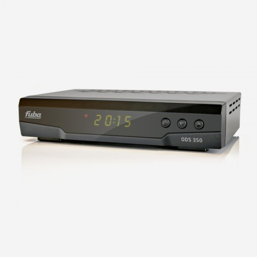 Fuba ODS 350 HDTV Sat-Receiver   Unicable-tauglich, Unicable2-tauglich, PVR-ready, LED-Display 4-stellig, EPI