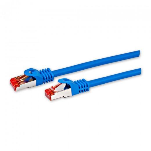 Fuba FCB 200 Cat. 6a Netzwerkkabel blau 2,0m