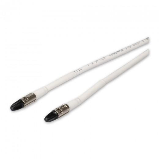 Fuba FCC 150 Vorgefertigtes LWL-Glasfaserpatchkabel für MATV-Lösungen mit CLIK-Stecker auf CLIK-Stecker in 50m Länge