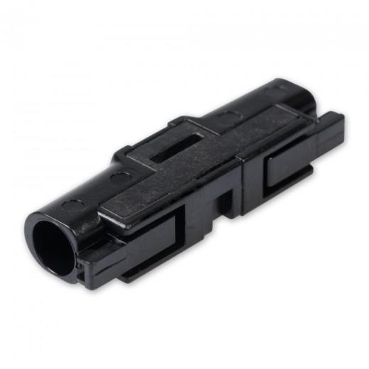 Fuba FCC 100 Adapter mit CLIK-Kupplung auf CLIK-Kupplung zur Verbindung von LWL-Glasfaserpatchkabel in MATV-Lösungen