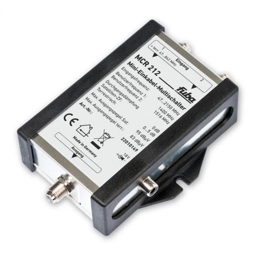 Fuba MCR 212 Mini-Einkabel-Multischalter
