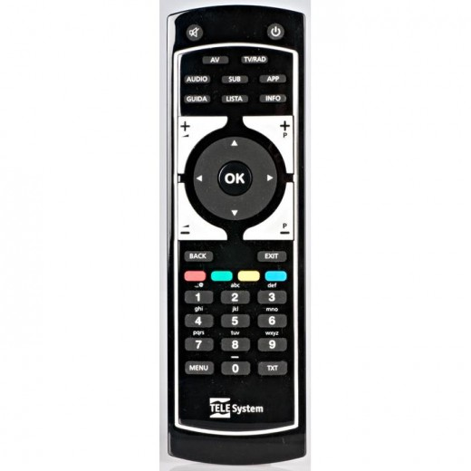 TELE System TS 9010 HD Ersatzfernbedienung