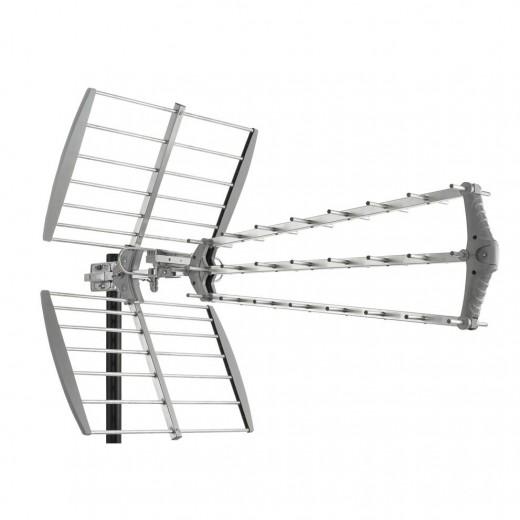 Fuba DAT 912 UHF- + DVB-T Außenantenne 470-860 MHz | 27 Elemente