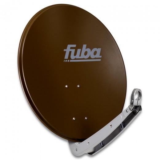 Fuba DAA 650 B Sat-Antenne Aluminium braun | Sat-Schüssel 60 cm x 65 cm
