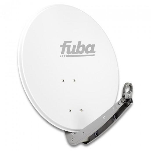 Fuba DAA 650 W Sat-Antenne Aluminium weiß | Sat-Schüssel 60 cm x 65 cm