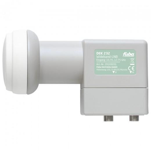 Fuba DEK 232 Wideband-LNB | HDTV, 4K- und 3D-kompatibel, Unicable2-tauglich