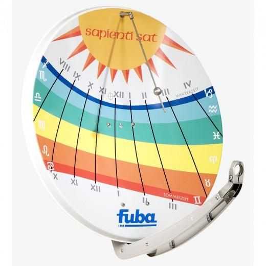Fuba DAA 850 Sundial Satellitenschüssel 85cm | Sonnenuhr Motiv Sundial