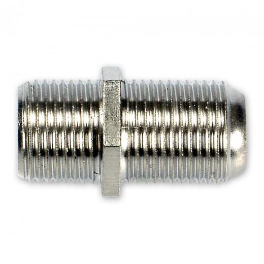 Fuba OVZ 090 F-Verbinder Sat-Verbinder | F-Doppelkupplung, F-Buchse auf F-Buchse