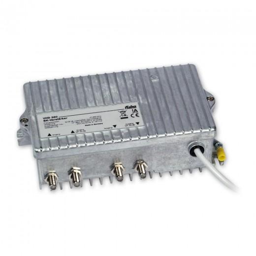 Fuba VHD 380 flexibel konfigurierbarer 38 dB Breitbandverstärker für multimediale Kabelnetze
