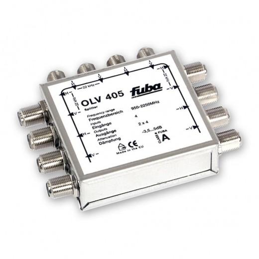 Fuba OLV 405 passiver Zweifach-Verteiler für 4 Satelliten-Ebenen
