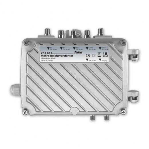 Fuba VKT 541 Mehrbereichsverstärker zum Verstärken sowie Verteilen von Radio- und Fernsehsignalen
