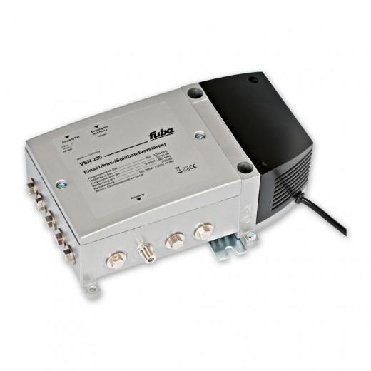 Fuba VSN 230 Universalverstärker einsetzbar als Einschleus-/ Splitbandnachverstärker zur Zusammenführung von terrestrischen, BK- und Satelliten-Signalen
