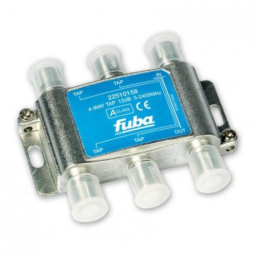 Fuba OHA 412 4-fach Abzweiger in horizontaler Bauform mit 12 dB Abzweigdämpfung