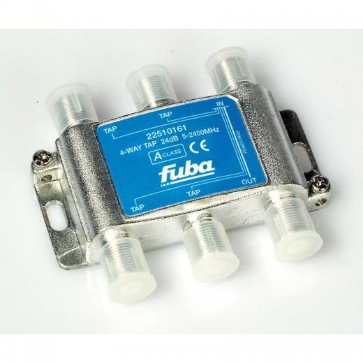 Fuba OHA 424 4-fach Abzweiger in horizontaler Bauform mit 24 dB Abzweigdämpfung