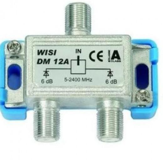 Wisi  DM 12 A 2-fach Verteiler,4-6dB,5-2400 MHZ