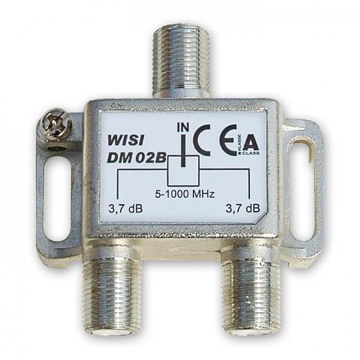 Wisi DM 02 B 2-fach BK-Verteiler 5-1000 MHz