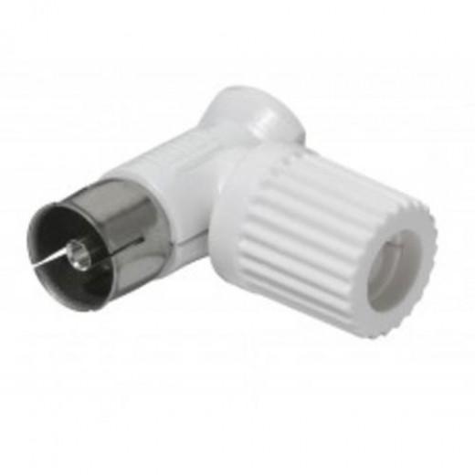 Wisi DV 82 0397 Koax-Winkelkupplung IEC