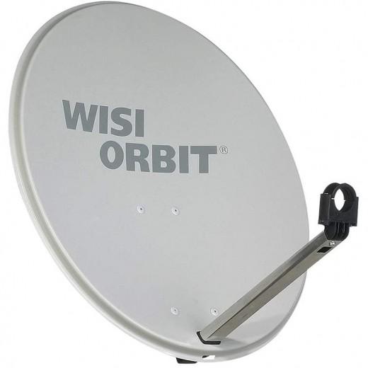 WISI OA 36G Sat Schüssel 60cm Aluminium lichtgrau Orbit Line   Offset Sat Antenne