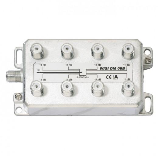 Wisi DM 08 B 8-fach BK-Verteiler 5-1000 MHz