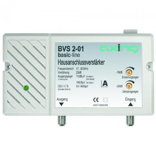 Axing BVS 2-01 BK-Verstärker | 25 dB