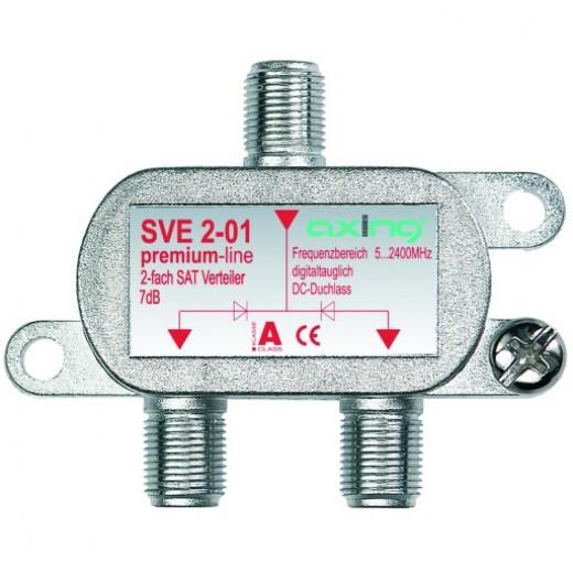 Axing SVE 2-01 2-fach SAT-Verteiler