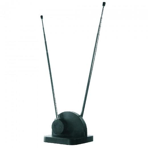 Axing TZA 6-00 Teleskop-Zimmerantenne für DVB-T2 und Radio