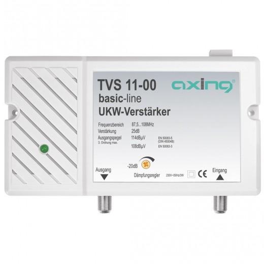 Axing TVS 11-00 UKW-Verstärker | 25 dB Verstärkung