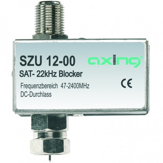 Axing SZU 12-00 Blocker 22 kHz SAT Durchgangs-Sperre