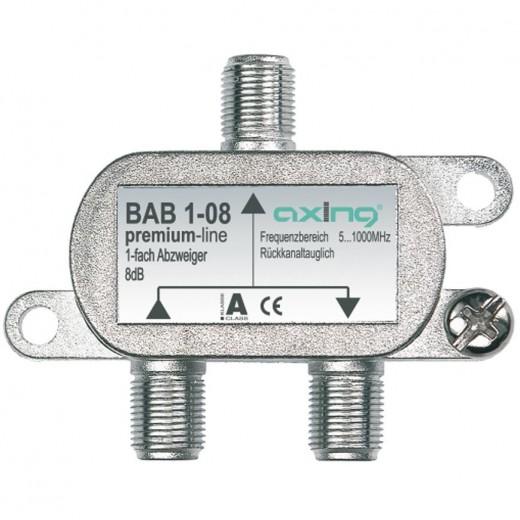 Axing BAB 1-10 Abzweiger | 1-fach, 10dB, premium-line