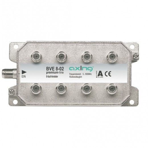 Axing BVE 8-02 BK 8-fach Verteiler | 5-1000 MHz